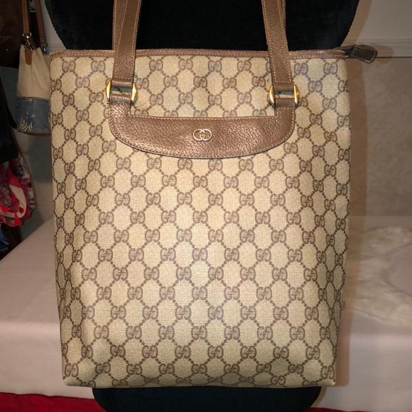 75199f7b3d6e Gucci Handbags - FINAL SALE! Authentic Vintage Gucci Tote FIRM